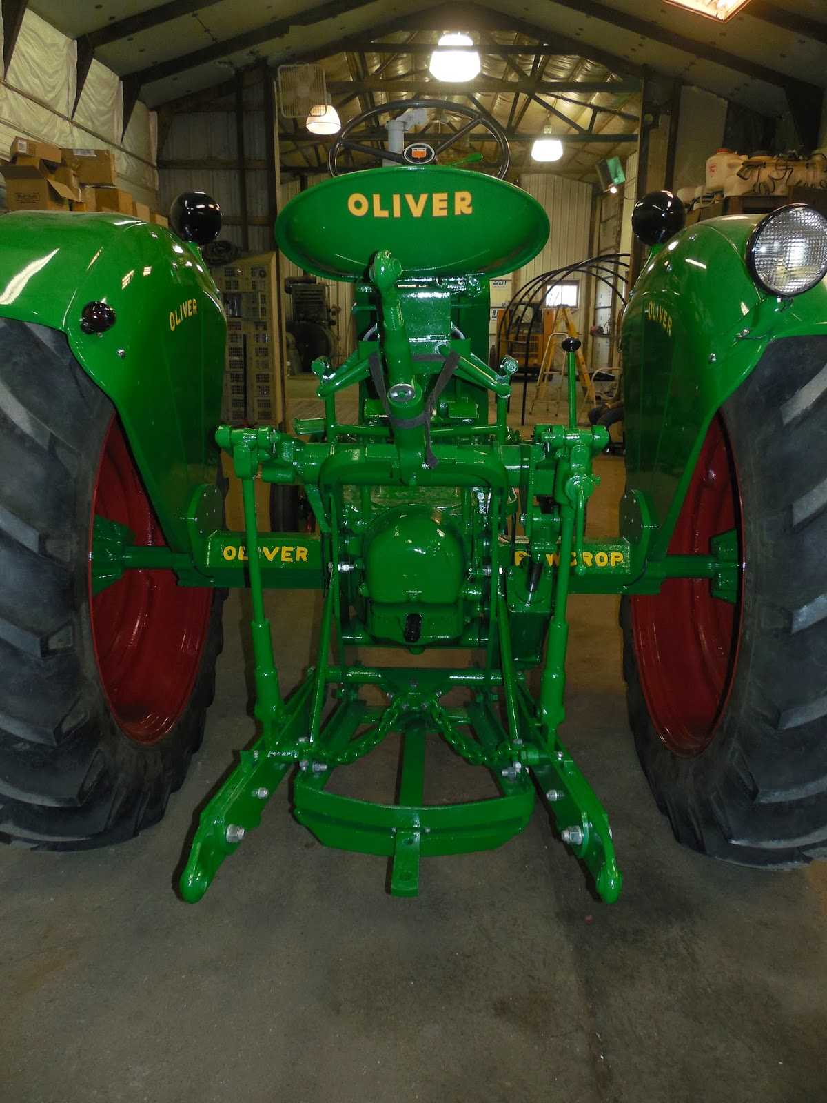 Johnson Family Tractors 1955 Oliver Super 77 Restoration