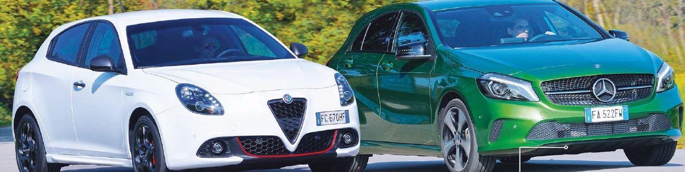 Alfa Romeo Giulietta VS Mercedes Classe A quale comprare