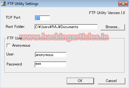 Exploit Windows PC using Konica Minolta FTP Utility 1 00 Post Auth