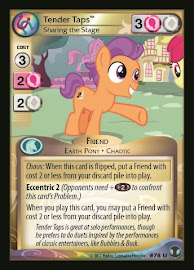 My Little Pony Tender Taps, Sharing the Stage Defenders of Equestria CCG Card