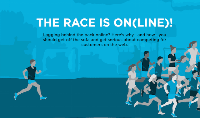 The Race Is On(line)!