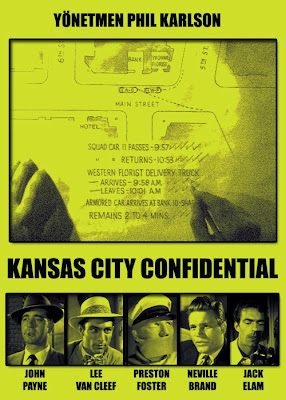 Kansas City Confidential (1952) poster