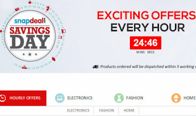 Snapdeal Offer of the Day 20 May 2016