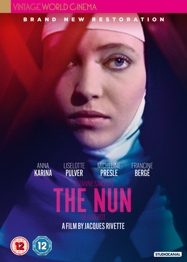 Jacques Rivette's Newly Remastered THE NUN dvd
