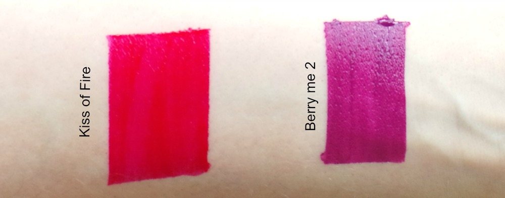 dose of colour matte lipstick swatches