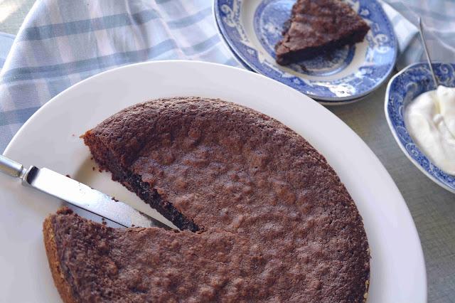 bästa chokladkladdkakan