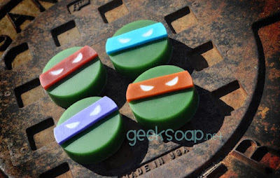 Turtle Power Soaps
