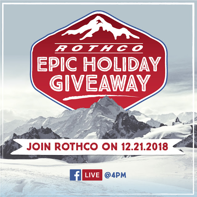 Join Rothco on Facebook Live!