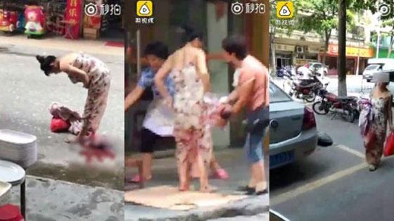 Video Seorang Wanita Melahirkan di Jalanan Yang Jadi Viral