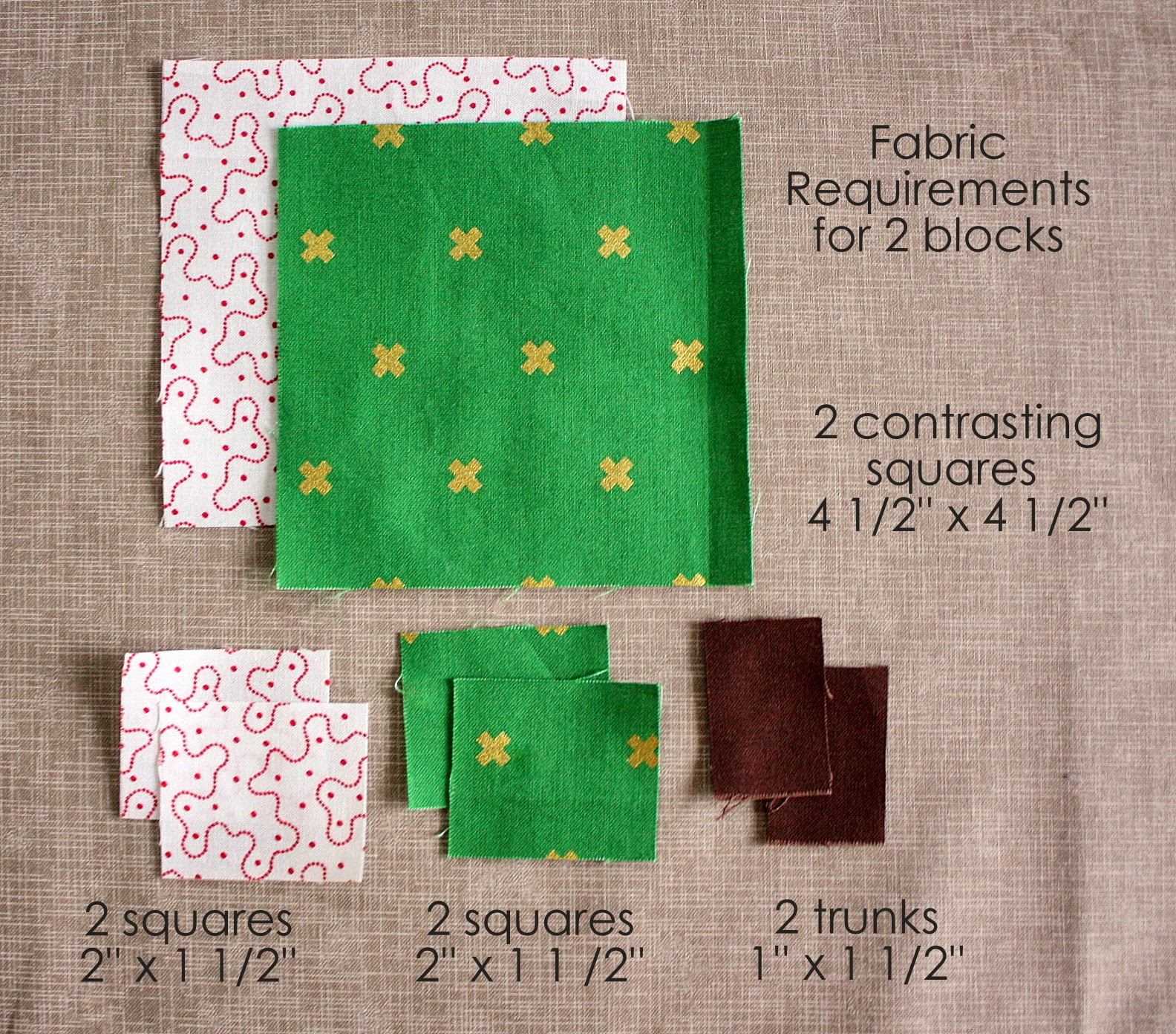 Patchwork Tree Quilt Block Tutorial Diary Of A Quilter A Quilt Blog