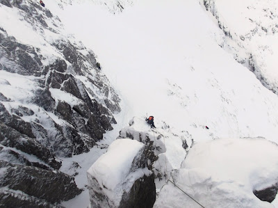 winter climbing, Ben Nevis