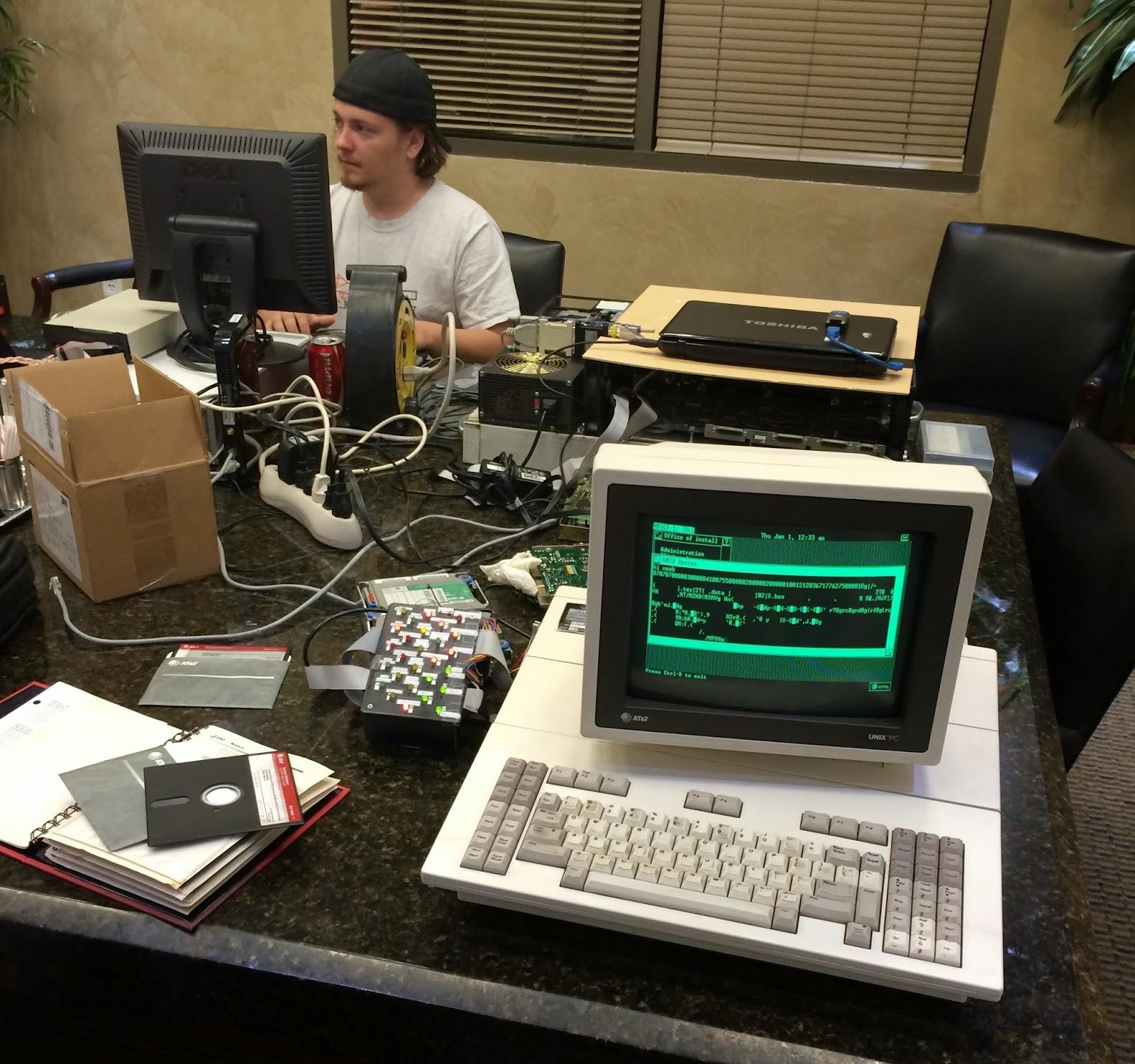 Convergent Technologies MightyFrame: Networking UNIX PC