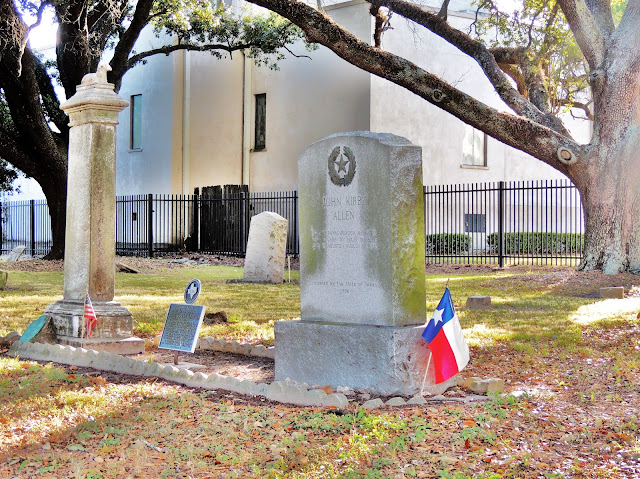 Town of Houston founders' grave site