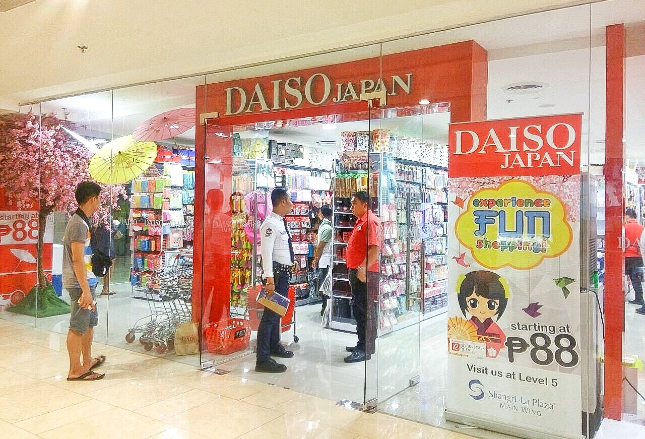 The opening also celebrates the winning case between Daiso Industries and  Japan Home Center ce787b69b