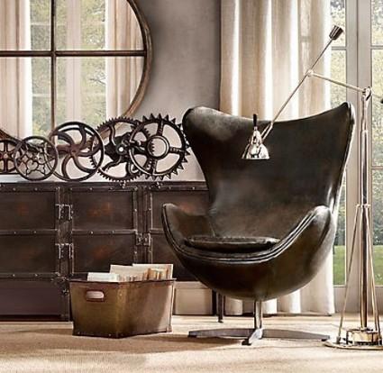 Decoraci n f cil da un estilo industrial a tu salon - Objetos de decoracion vintage ...