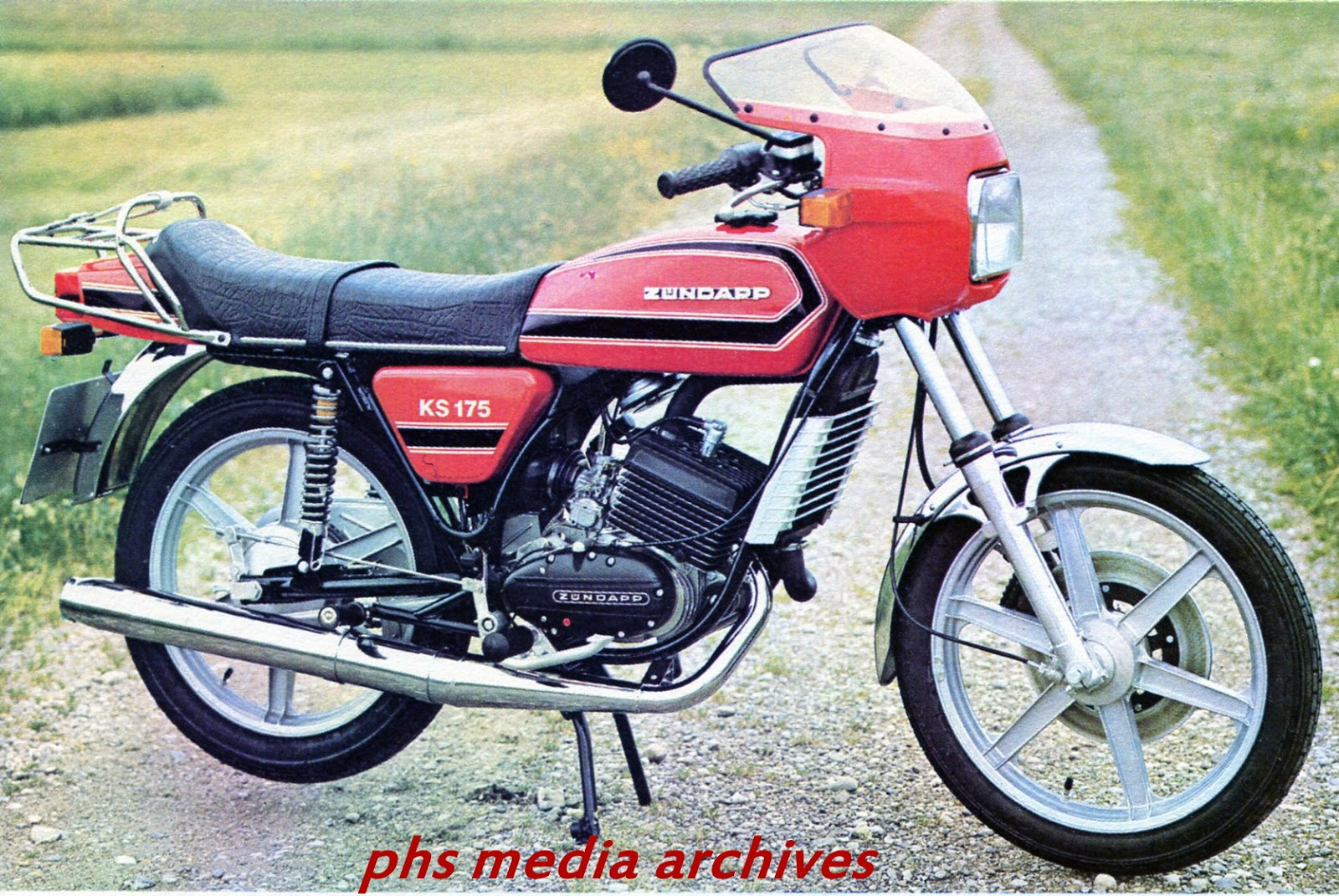 Zundapp S 1980 Motorcycle Line Up Phscollectorcarworld