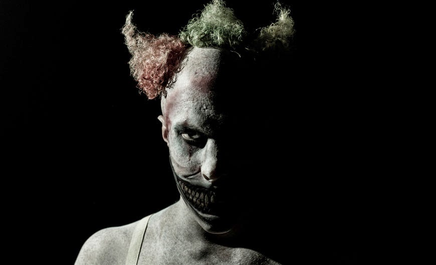 John Carroll Lynch as Twisty the Clown American Horror Story Freak Show Season 4 Episode 1 Monsters Among Us