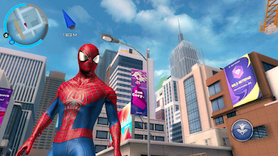 Tampilan Game The Amazing Spider Man 2 Android