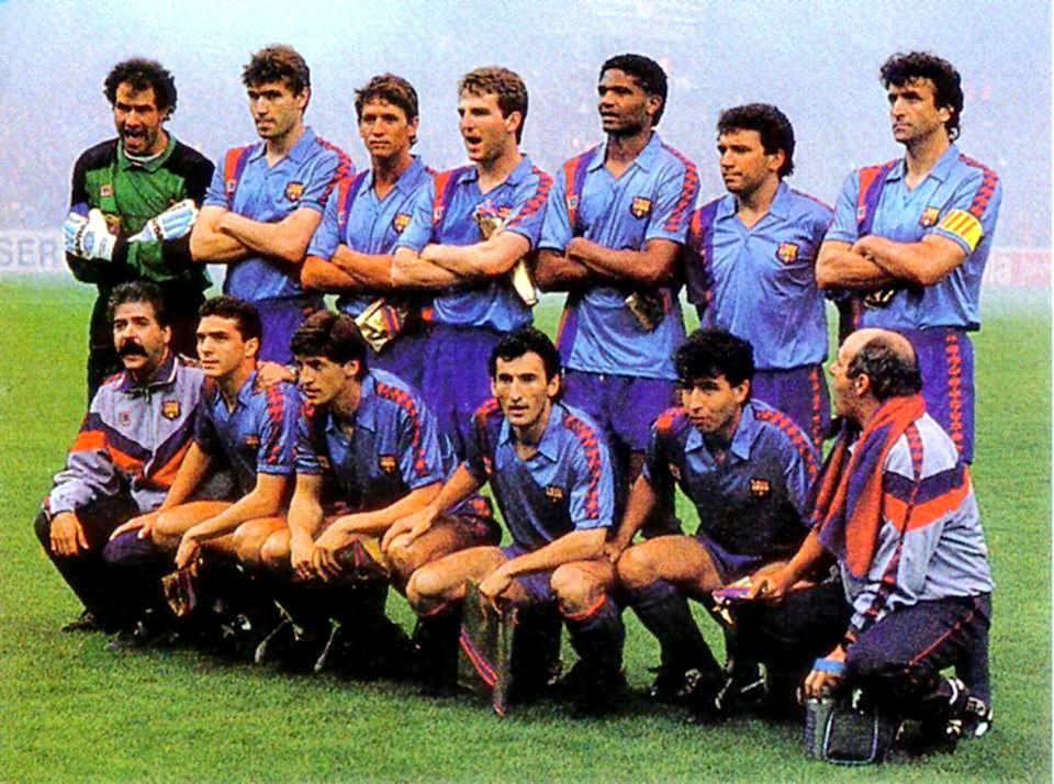 EQUIPOS DE FÚTBOL: BARCELONA en la temporada 1988-89