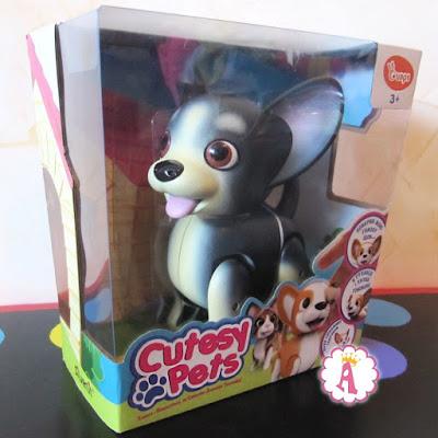 Интерактивная игрушка собака Арчи Кьютси Петс обзор