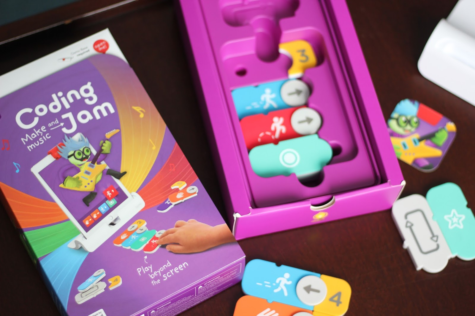 Review: Teaching Kids to Code with Osmo's Coding Jam Game