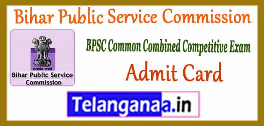 BPSC Bihar Public Service Commission Mains Admit Card 2018