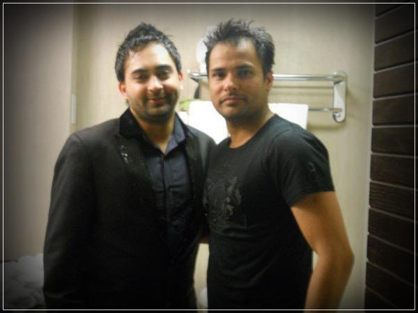 Amrinder Gill With Sharry Mann - Exclusive Photo