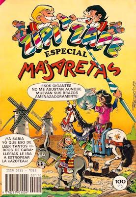 Ornelo, portada Zipi y Zape Especial Majaretas