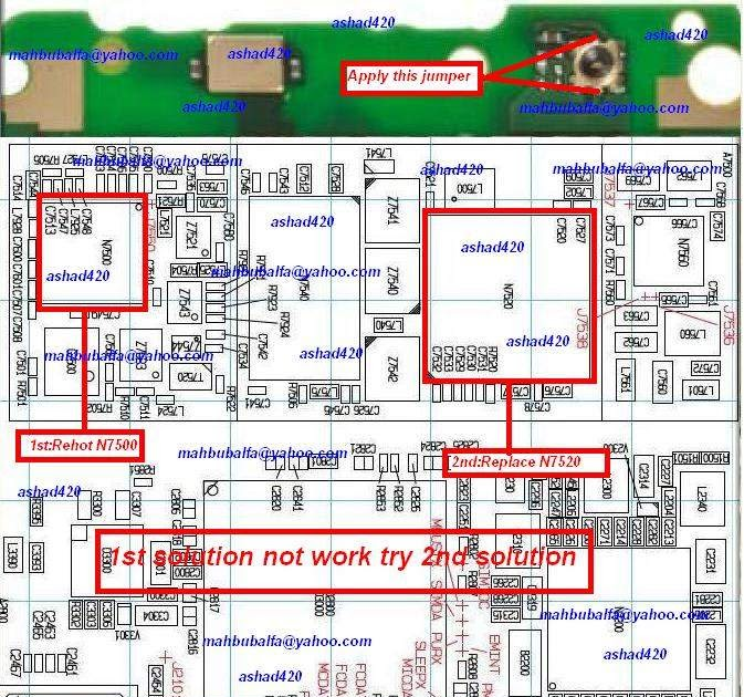 Nokia C5 No Network Problem Picture Help | Phone Repairing