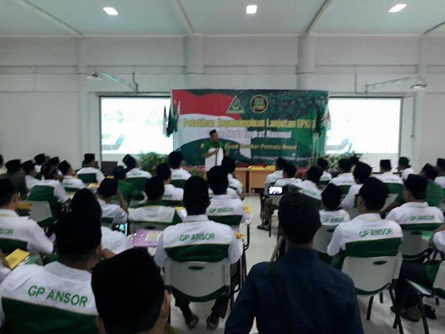 Kaderisasi, GP Ansor Rambah Kelas Menengah Intelektual