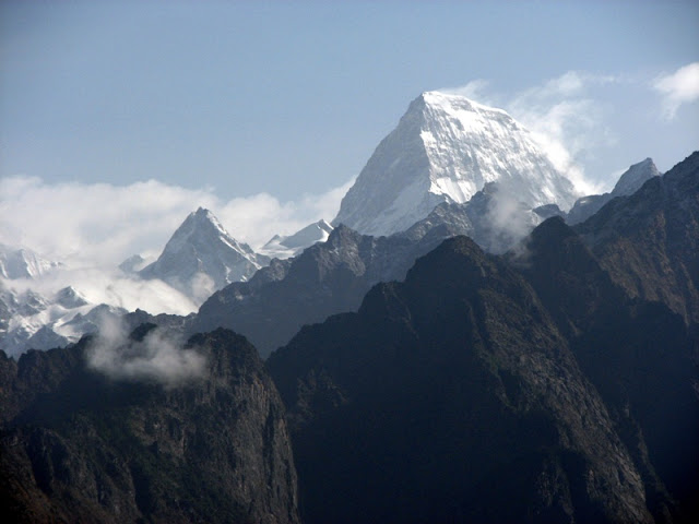 Kamet is the third highest peak in India