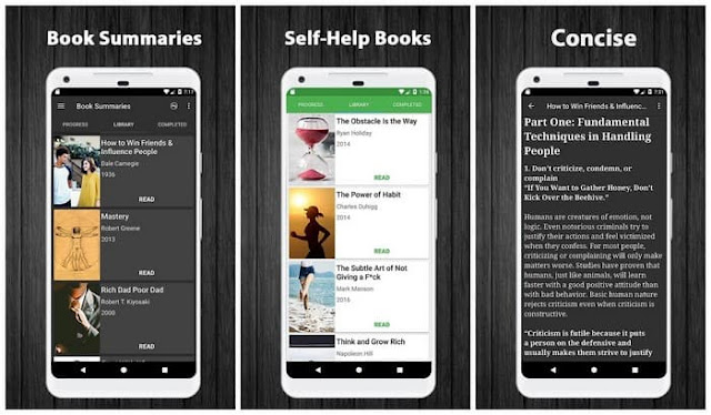 Self-Help Book Summaries Pro apk free download