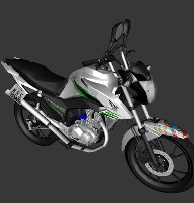 GTA SA - CG TITAN FAVELA PC FRACO
