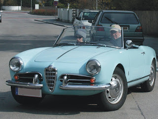 The Alfa Romeo Giulietta Spider, the first high  volume success for Pinin Farina's company