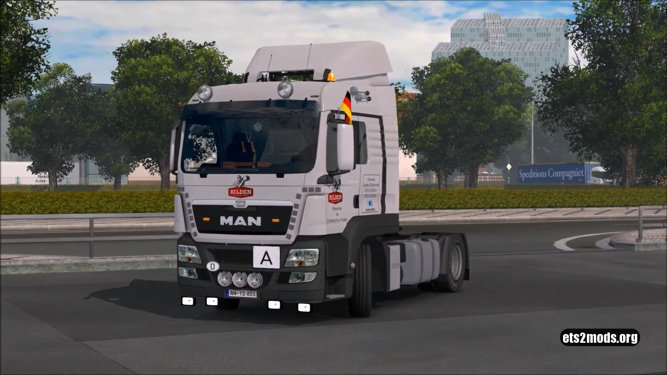 Truck - MAN TGS v 1.3