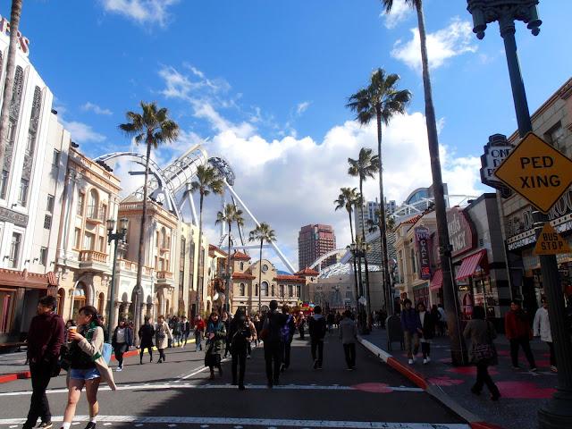 Boulevard americano en Universal Studios Japan, Osaka