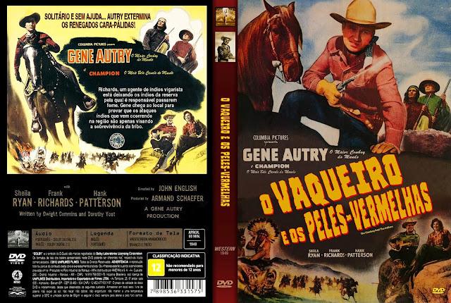 Capa DVD Capa DVD O Vaqueiro e os Peles-Vermelhas