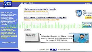 Cara Mendaftar Internet Banking BCA