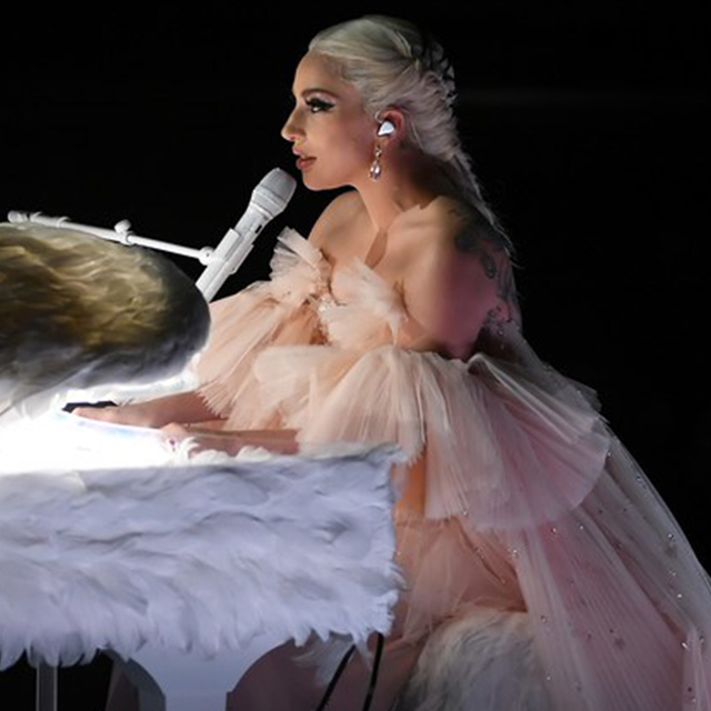 Lady Gaga Performs at 60th GRAMMY Awards