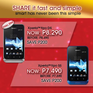 Sony Xperia tipo and Xperia tipo dual PRICE DROP!