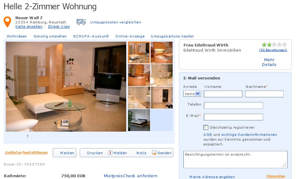 mobil scout 24 immobilien