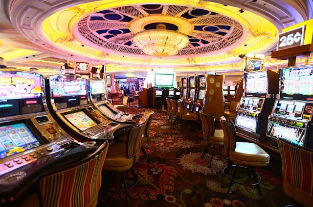 Cassino do Hotel Monte Carlo em Las Vegas