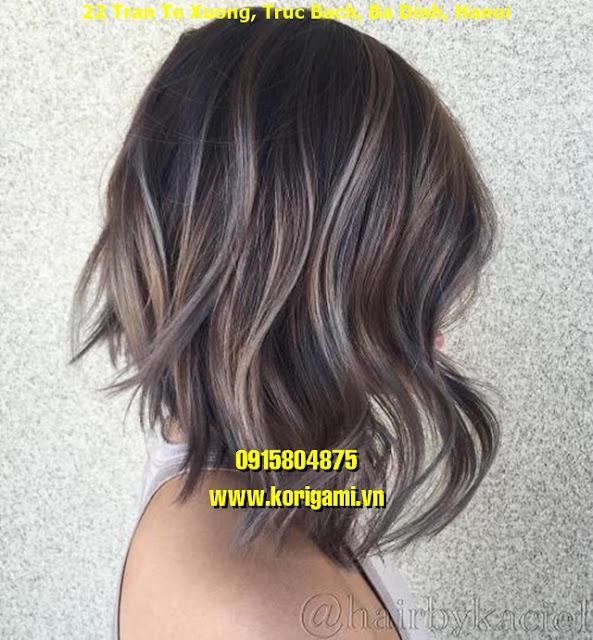 BALAYAGE HAIR COLOR IDEAS FOR WOMEN IN HANOI VIETNAM