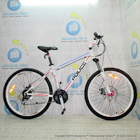 26 Inch Element Orlando Police 911 Alloy 24 Speed Mountain Bike-White