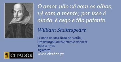 Shakespeare E O Amor Filosofia Perene E Universal A Caminho Do