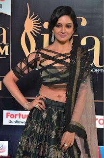 Vimala Raman in Designer Choli and Saree at IIFA Utsavam Awards 2017  Day 2    HD Exclusive Pics