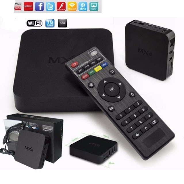 Smart Tv Box Mxq