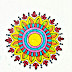 Flower drawing/embroidery flowers butta sketch on paper