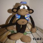 patron gratis mono amigurumi