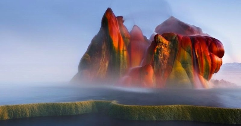Angenuity Have You Seen This Fly Geyser In Gerlach Nevada